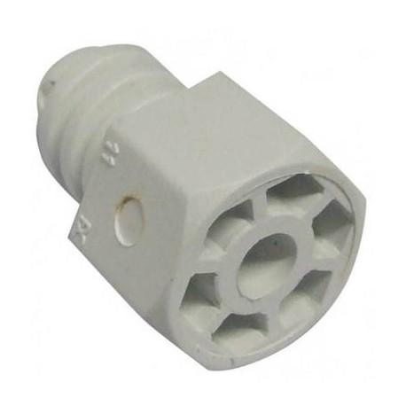 204 PATA REGULABLE PLASTICO 40mm BLANCA ( Envío en: 2 - 3 Dias más transporte )