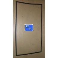 15591 BURLETE PUERTA REFRIGERADOR NEGRO (Material de encargo : ver condiciones de venta) ( Entrega aprox: 3 - 4 días )